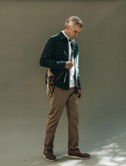 Coit Jacket, White Oxford Jack, Camp Pant