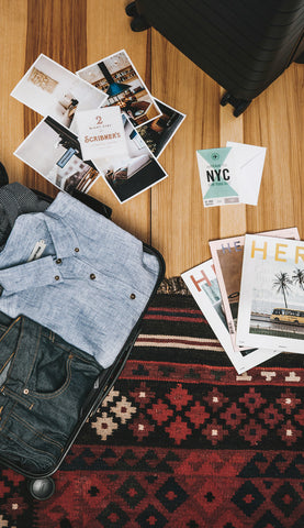 Get away with Taylor Stitch, Scribners, Here Magazine, and Away Travel