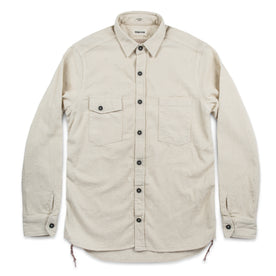 The Utility Shirt in Cone Mills Corded Natural: Alternate Image 6