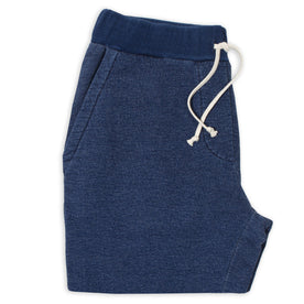 Sea Washed Indigo Fleece Sweatpants: Featured Image