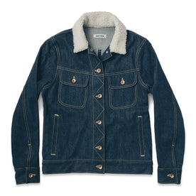 The Pacific Jacket in Sea Washed Selvage Denim: Featured Image