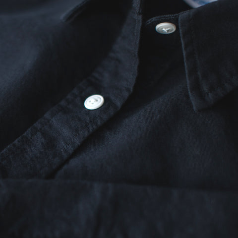 The Katherine in Washed Black Oxford - alternate view