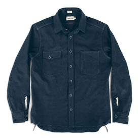 The Utility Shirt in Cone Mills Indigo Selvage Canvas: Alternate Image 8