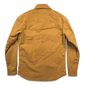 The Chore Jacket in Mustard Dry Wax Canvas: Alternate Image 5