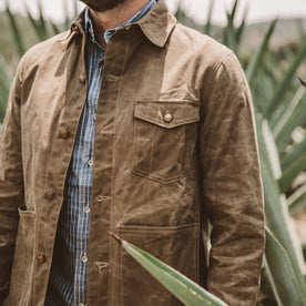 The Project Jacket in Field Tan Beeswaxed Canvas: Alternate Image 3