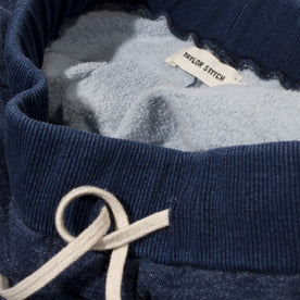 Sea Washed Indigo Fleece Sweatpants: Alternate Image 1
