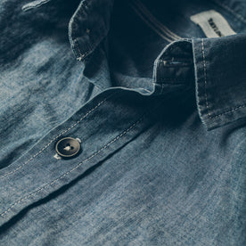 The Utility Shirt in Sea Washed Chambray: Alternate Image 1