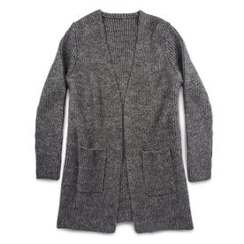 The Frida Cardigan in Charcoal: Featured Image