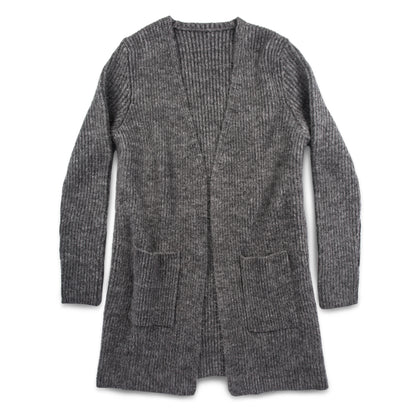 The Frida Cardigan in Charcoal