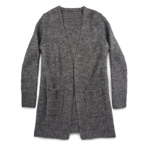 The Frida Cardigan in Charcoal - featured image