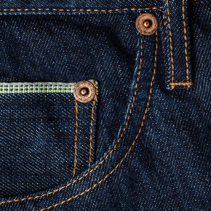 The Slim Jean in 3 Month Rinse Selvage: Alternate Image 5