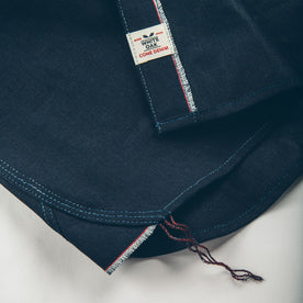 The Utility Shirt in Cone Mills Indigo Selvage Canvas: Alternate Image 7