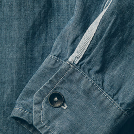 The Utility Shirt in Sea Washed Chambray: Alternate Image 3