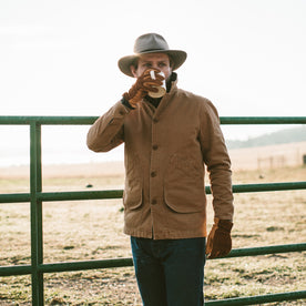The Barn Jacket in Camel: Alternate Image 3