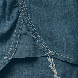 The Utility Shirt in Sea Washed Chambray: Alternate Image 5