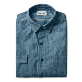 The Utility Shirt in Sea Washed Chambray: Featured Image