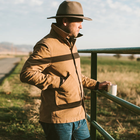 The Barn Jacket in Camel - alternate view