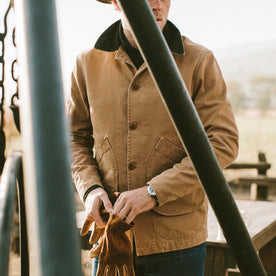 The Barn Jacket in Camel: Alternate Image 4