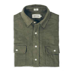 The Yosemite Shirt in Olive Drab: Featured Image