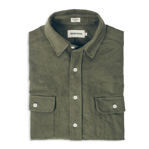 The Yosemite Shirt in Olive Drab - featured image