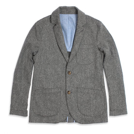 The Telegraph Jacket in Ash Tweed Herringbone: Featured Image