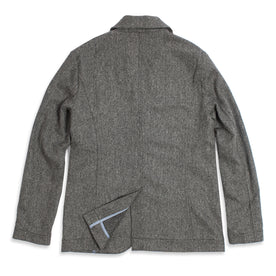 The Telegraph Jacket in Ash Tweed Herringbone: Alternate Image 2