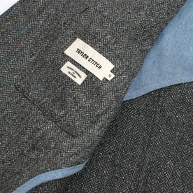 The Telegraph Jacket in Ash Tweed Herringbone: Alternate Image 3
