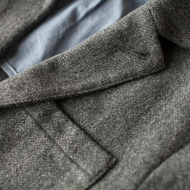 The Telegraph Jacket in Ash Tweed Herringbone: Alternate Image 1