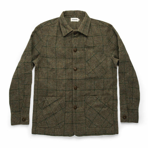 The Ojai Jacket in Windowpane Wool - featured image