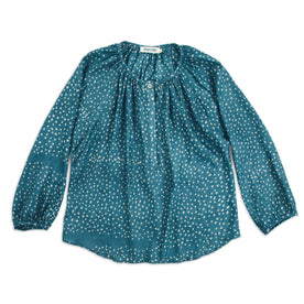 The Orinda Blouse in Dotted Silk Batik: Featured Image