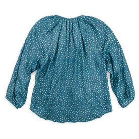 The Orinda Blouse in Dotted Silk Batik: Alternate Image 5