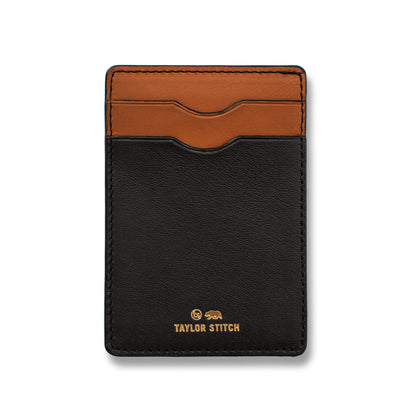 The Minimalist Wallet in Black: Featured Image
