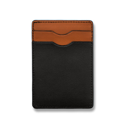 The Minimalist Wallet in Black: Alternate Image 3