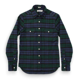 The Sierra Shirt in Blackwatch Plaid: Featured Image