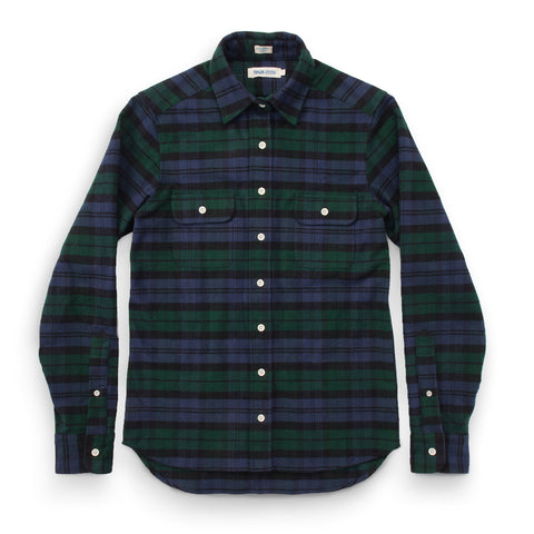 The Sierra Shirt in Blackwatch Plaid - featured image