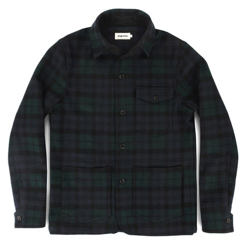 The Project Jacket in Blackwatch Pendleton Wool - featured image