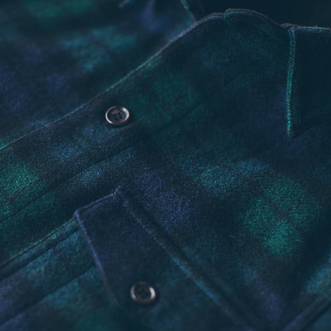 The Project Jacket in Blackwatch Pendleton Wool - alternate view