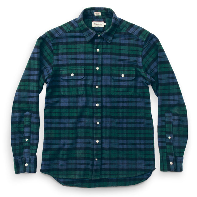 The Yosemite Shirt in Blackwatch Plaid