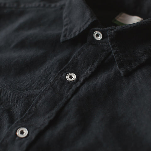 The Chore Shirt in Coal - alternate view