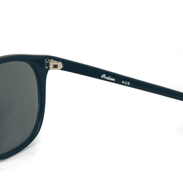 The Ace Sunglasses in Polished Black