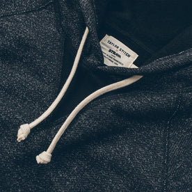 The Hoodie in Charcoal Fleck Fleece: Alternate Image 4