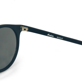 The Scout - Matte Black Sunglasses: Alternate Image 4