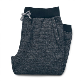 The Travel Pant in Charcoal Fleck Fleece: Featured Image