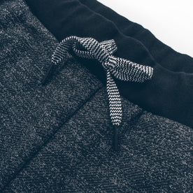 The Travel Pant in Charcoal Fleck Fleece: Alternate Image 1