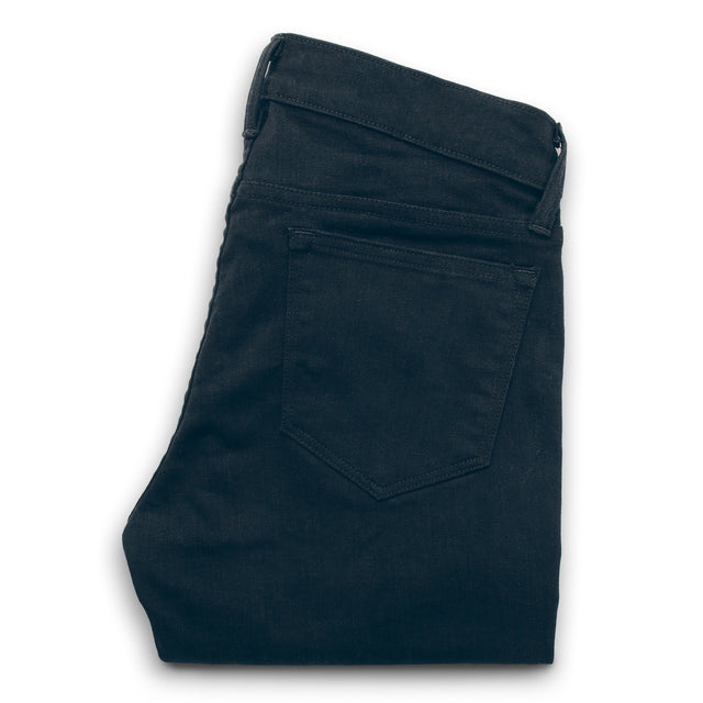 The Adler Jean in Noir