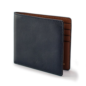 The Minimalist Billfold Wallet in Navy: Featured Image