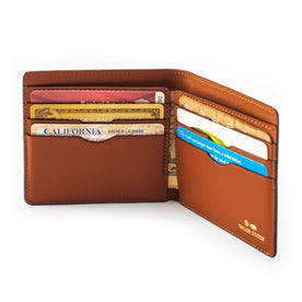 The Minimalist Billfold Wallet in Brown: Alternate Image 2