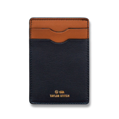 The Minimalist Wallet in Navy: Featured Image