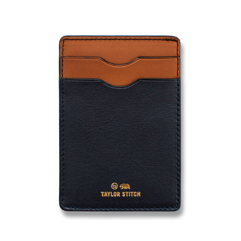 The Minimalist Wallet in Navy - featured image