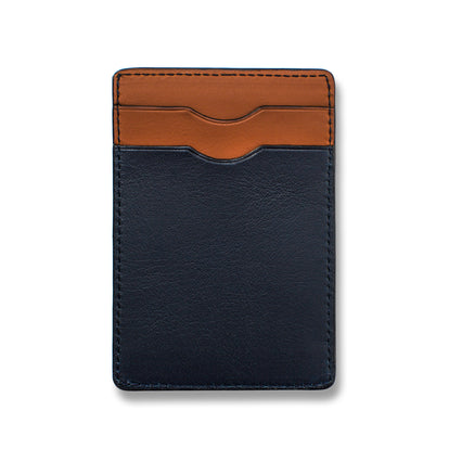 The Minimalist Wallet in Navy: Alternate Image 3
